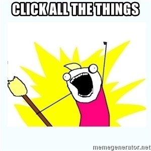 All the things - Click all the things