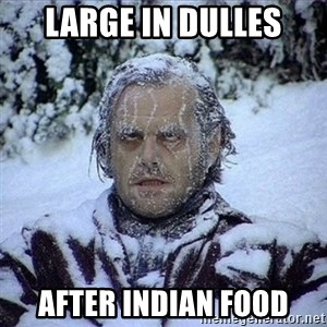 Frozen Jack - Large in Dulles After Indian food