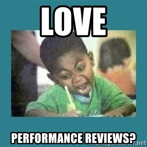 I love coloring kid - Love performance reviews?