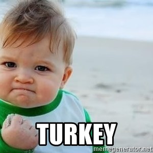 fist pump baby - Turkey