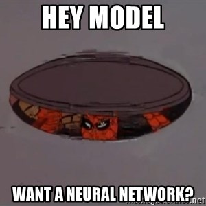Spiderman in Sewer - Hey model Want a neural network?