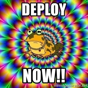 hypno toad - Deploy Now!!