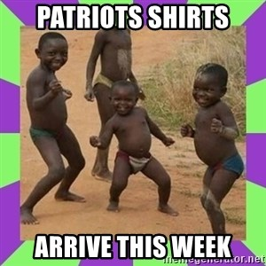 african kids dancing - PATRIOTS SHIRTS ARRIVE THIS WEEK