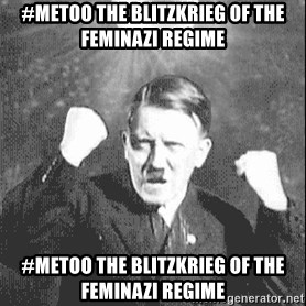 Disco Hitler - #metoo the blitzkrieg of the feminazi regime #metoo the blitzkrieg of the feminazi regime