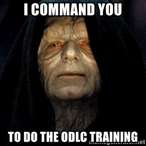 Star Wars Emperor - I command you to do the ODLC training