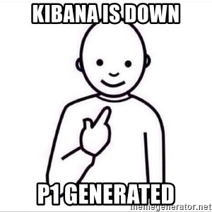 Guess who ? - Kibana is down P1 Generated