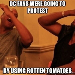 Jay-Z & Kanye Laughing - DC Fans were going to protest by using Rotten Tomatoes