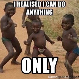 Dancing African Kid - I realised i can do anything Only