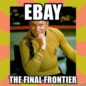 Captain Kirk - eBAY The Final Frontier