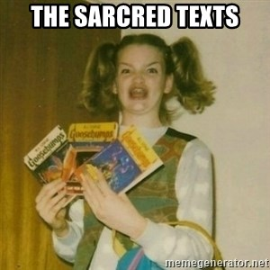 oh mer gerd - THE SARCRED TEXTS