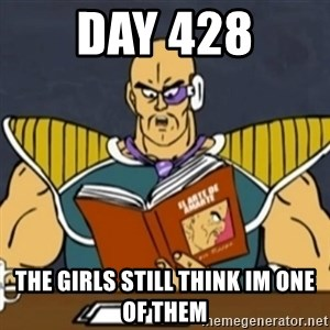 El Arte de Amarte por Nappa - Day 428 The girls still think im one of them