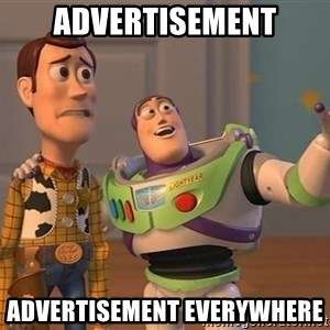 ORIGINAL TOY STORY - Advertisement Advertisement everywhere