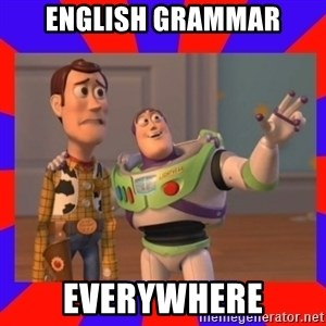 Everywhere - English grammar EVERYWHERE