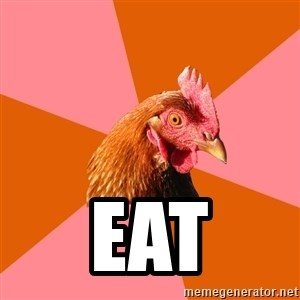 Anti Joke Chicken - EAT