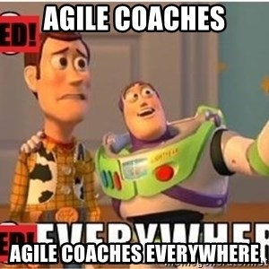 Toy Story Everywhere - Agile Coaches Agile Coaches Everywhere