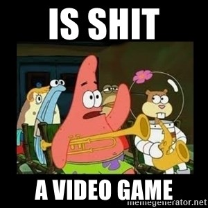 Patrick Star Instrument - is shit a video game