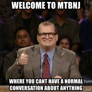 drew carey whose line is it anyway - welcome to mtbnj where you cant have a normal conversation about anything