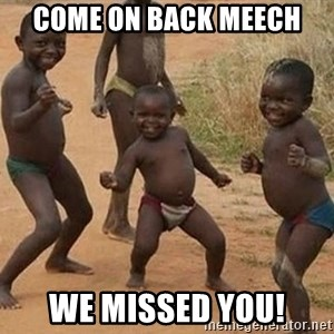 Dancing African Kid - Come on back Meech We missed you!