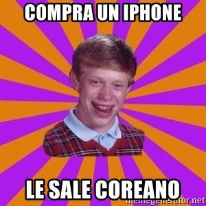 Unlucky Brian Strikes Again - Compra un iphone Le sale coreano