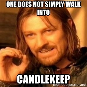 ODN - One does not simply walk into Candlekeep