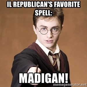 Advice Harry Potter - IL Republican's favorite spell: madigan!