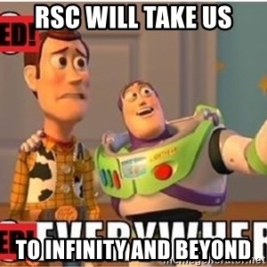 Toy Story Everywhere - RSC will take us to infinity and beyond