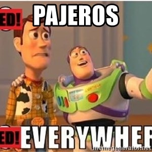 Toy Story Everywhere - Pajeros
