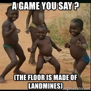 Dancing black kid - A game you say ? (The floor is made of landmines)