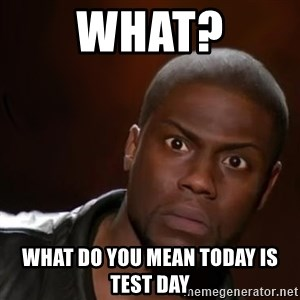 kevin hart nigga - what? what do you mean today is test day