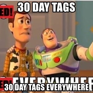 Toy Story Everywhere - 30 day tags 30 day tags everywhere