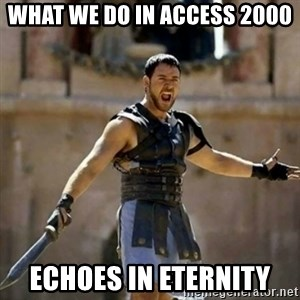 GLADIATOR - WHAT WE DO IN ACCESS 2000 ECHOES IN ETERNITY