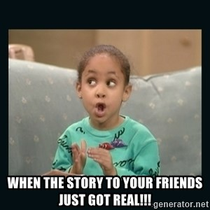 Raven Symone - WHEN THE STORY TO YOUR FRIENDS JUST GOT REAL!!!