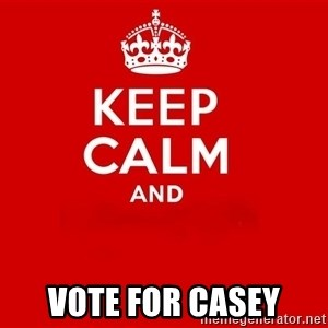 Keep Calm 2 - vote for casey