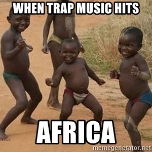 Dancing african boy - When trap music hits Africa