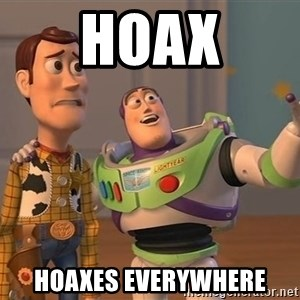 ORIGINAL TOY STORY - Hoax Hoaxes everywhere