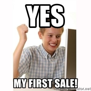 Computer kid - Yes My first Sale!