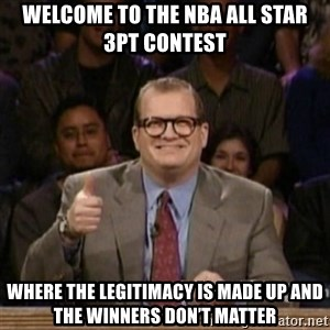 drew carey whose line is it anyway - Welcome to the NBA All Star 3pt Contest Where the legitimacy is made up and the winners don't matter