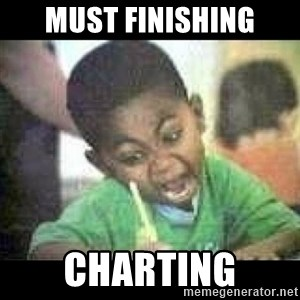 Black kid coloring - must finishing charting
