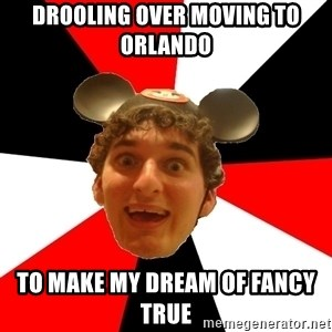 Disney Nerd - drooling over moving to orlando to make my dream of fancy true