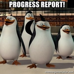 Madagascar Penguin - Progress Report!