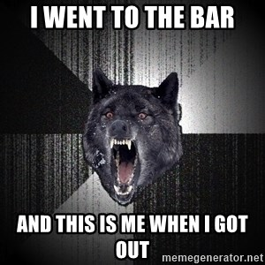 xymixihb - I went to the bar and this is me when i got out