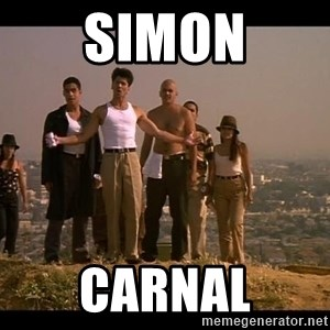 Blood in blood out - Simon Carnal
