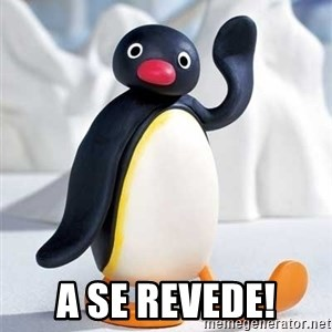 Hello, my name is pingu! - A se revede!