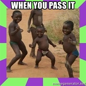 african kids dancing - when you pass IT