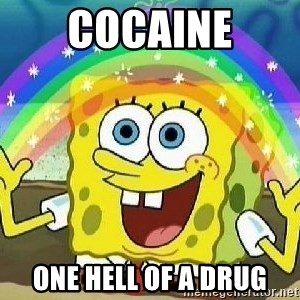 Imagination - Cocaine one hell of a drug