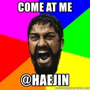 sparta - Come At Me @haejin