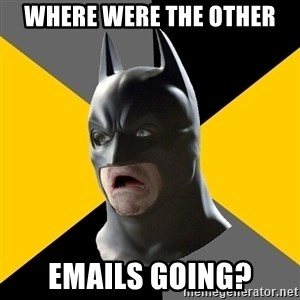Bad Factman - where were the other emails going?
