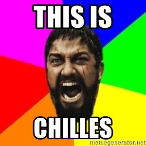 sparta - this is chilles