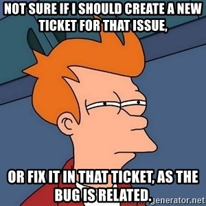 Futurama Fry - not sure if I should create a new ticket for that issue, or fix it in that ticket, as the bug is related.