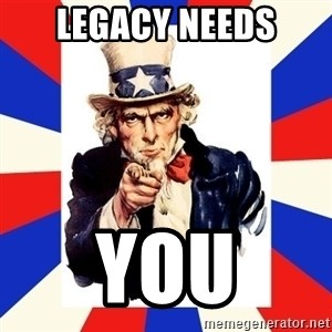uncle sam i want you - legacy needs you